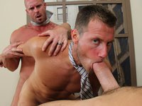 Big Cock Office Threesome