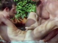 They have an exotic anal exploration in the warm spa